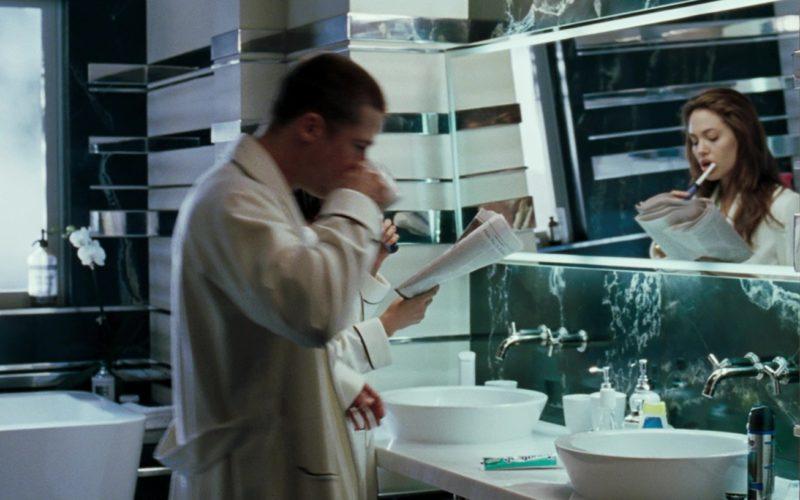 Gillette Shaving Cream Used by Brad Pitt in Mr. & Mrs. Smith (2)
