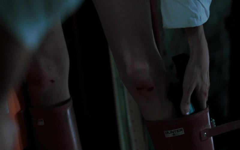 Hunter Boots (Red) Worn by Angelina Jolie in Mr. & Mrs. Smith (3)