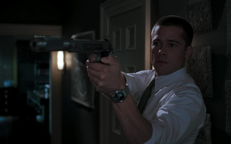 IWC Watch Worn by Brad Pitt in Mr. & Mrs. Smith (10)