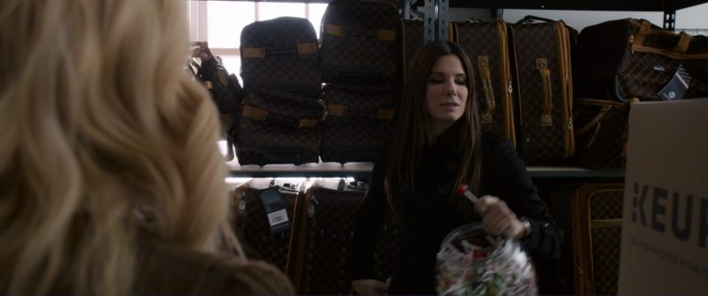LV Bags and Keurig Boxes in Ocean's 8 (2018) Movie Product Placement
