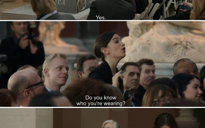La Perla Black Lingerie Worn by Anne Hathaway (Daphne Kluger) in Ocean's 8 (2018)