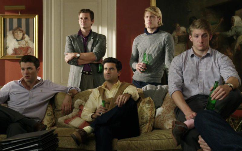 Lacoste Men's Grey Sweater in Billionaire Boys Club (1)