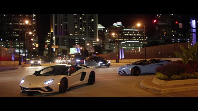 "Lamborghini Aventador Sports Cars in ""Lamb Talk"" by Quavo (2018) Official Music Video Product Placement"