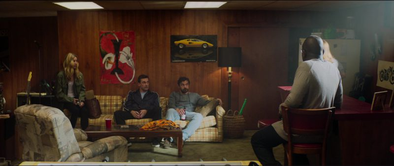 Lamborghini Countach Poster in Tag (2018) Movie Product Placement