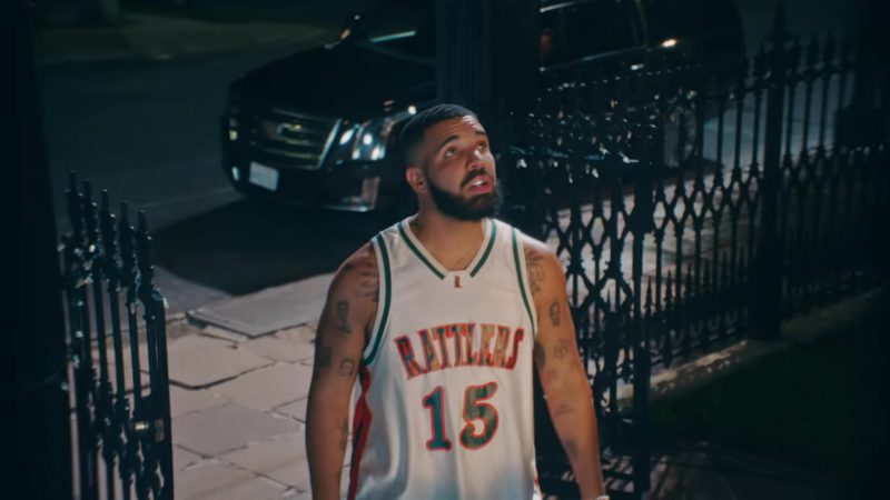 "Rattlers 15 LeFlore Jersey Worn by Drake in ""In My Feelings"" (2018) Official Music Video Product Placement"