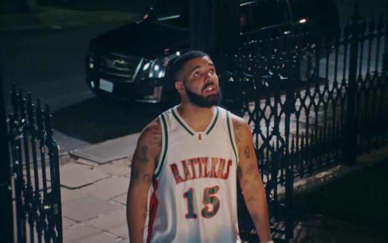"""LeFlore Rattlers Jersey Worn by Drake in """"In My Feelings"""" (2)"""