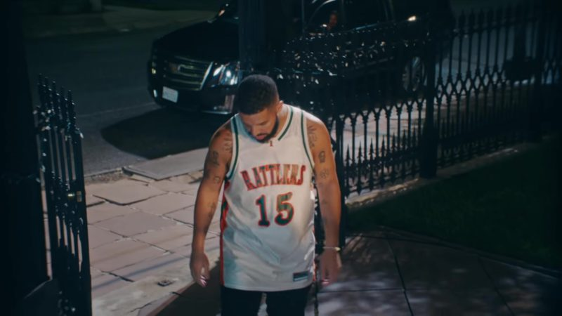 """Rattlers 15 LeFlore Jersey Worn by Drake in """"In My Feelings"""" (2018) Official Music Video Product Placement"""