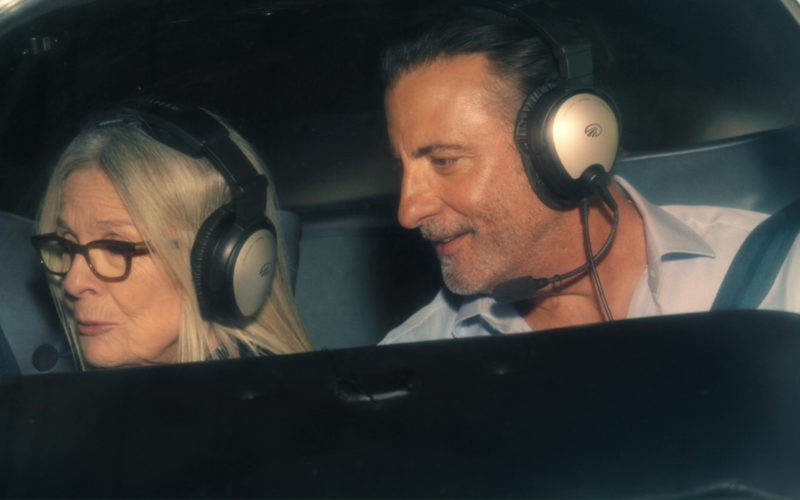 Lightspeed Aviation Headsets Worn by Diane Keaton and Andy Garcia in Book Club (4)