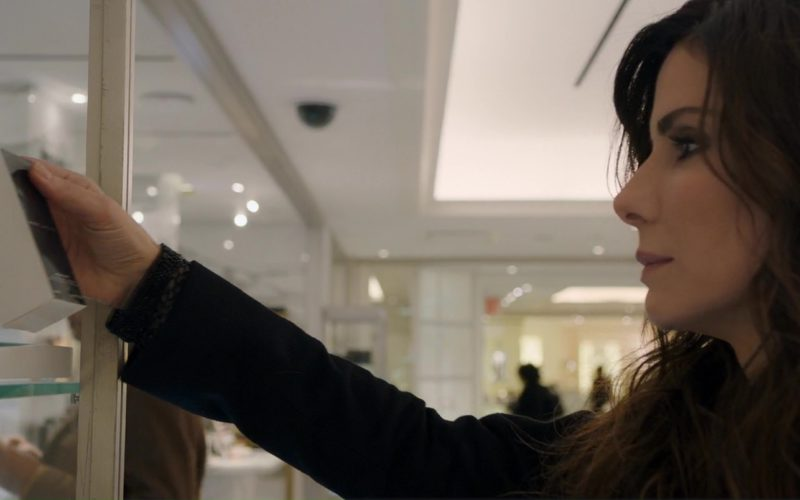 Marc Jacobs Beauty Products Held by Sandra Bullock in Ocean's 8