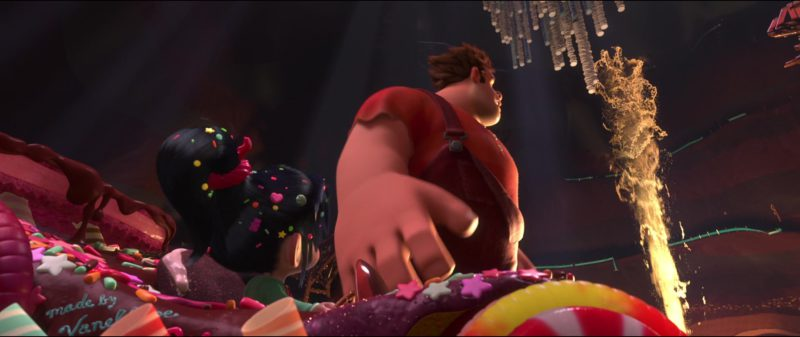 Mentos in Wreck-It Ralph (2012) Animation Movie Product Placement