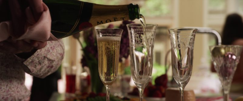 Moët & Chandon Champagne in Set It Up (2018) Movie Product Placement