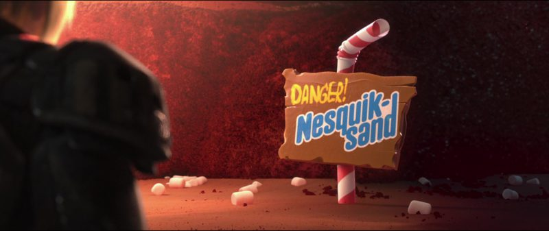 Nesquik in Wreck-It Ralph (2012) Animation Movie Product Placement
