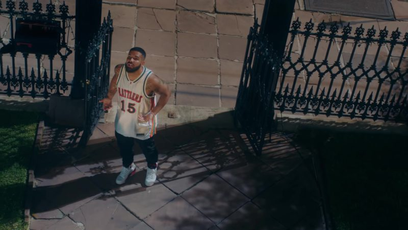 "Nike Air Jordan 5 Retro Low Sneakers Worn by Drake in ""In My Feelings"" (2018) Official Music Video Product Placement"