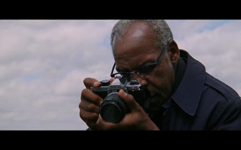 Nikon Camera Used by Danny Glover in The Old Man & the Gun