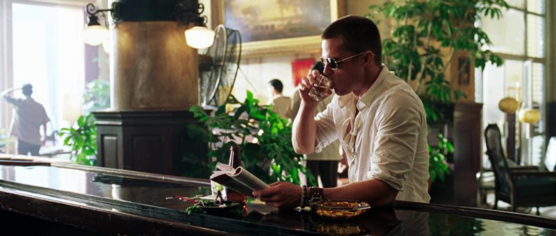 Oliver Peoples Sunglasses Worn by Brad Pitt in Mr. & Mrs. Smith (2005) Movie Product Placement