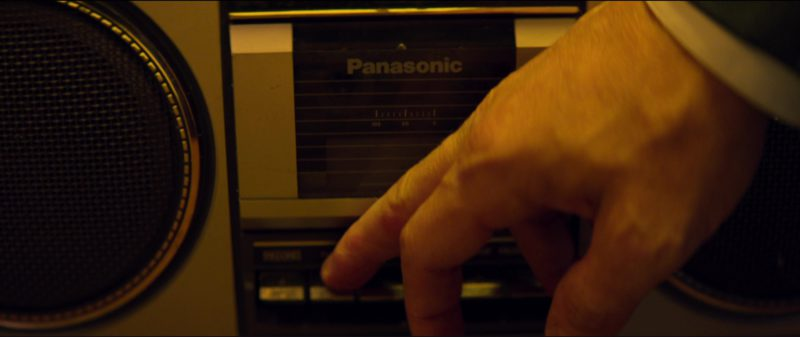 Panasonic Stereo Radio Cassette Recorder in Tag (2018) Movie Product Placement