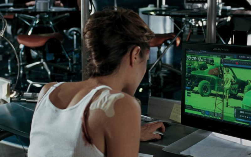 Planar Monitors Used by Angelina Jolie in Mr. & Mrs. Smith (1)