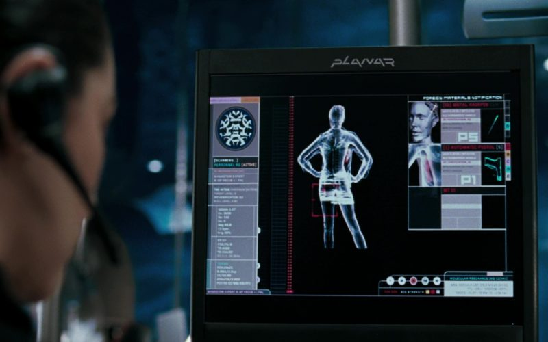 Planar Monitors and Displays in Mr. & Mrs. Smith (1)