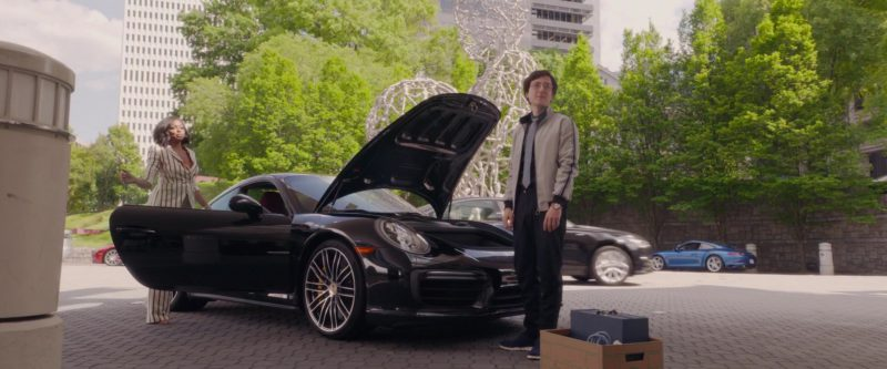 Porsche 911 Sports Car Used by Taraji P. Henson in What Men Want (2019) - Movie Product Placement