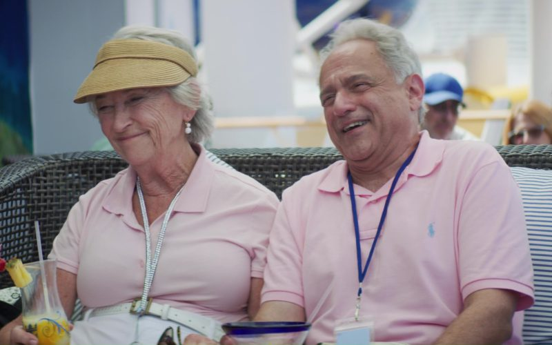 Ralph Lauren Pink Polo Shirt Worn by Anthony Laciura in Like Father (4)