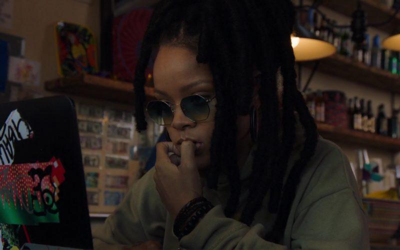 Ray-Ban Octagonal Sunglasses Worn by Rihanna (Nine Ball) in Ocean's 8 (1)