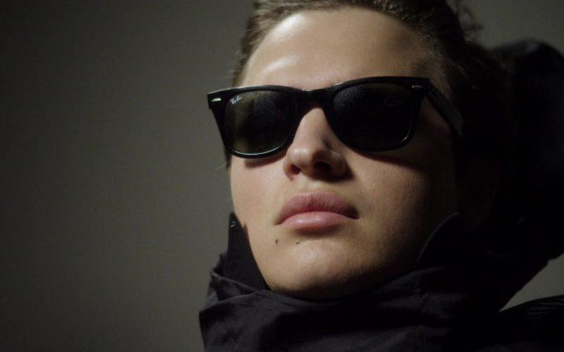 Ray-Ban Sunglasses Worn by Ansel Elgort (Joe Hunt) in Billionaire Boys Club (10)