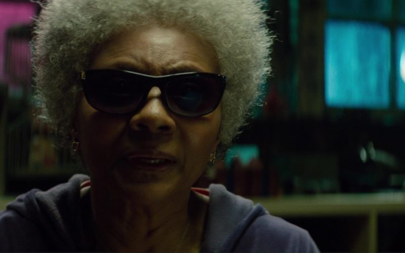 Ray-Ban Sunglasses Worn by Leslie Uggams (Blind Al) in Deadpool 2 Movie (5)