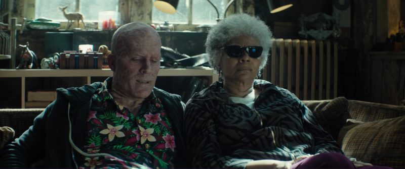 Ray-Ban Sunglasses Worn by Leslie Uggams (Blind Al) in Deadpool 2 (2018) Movie Product Placement
