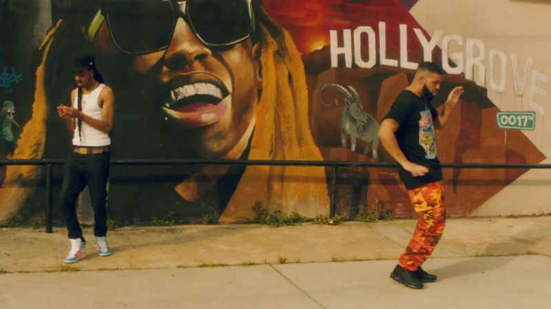 "Rothco Savage Orange Camo Tactical Pants Worn by Drake in ""In My Feelings"" (2018) - Official Music Video Product Placement"