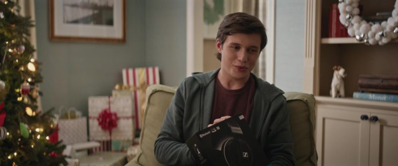 Sennheiser Headphones Held by Nick Robinson in Love, Simon (2018) - Movie Product Placement