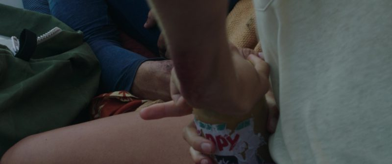 Skippy Peanut Butter Held by Shailene Woodley in Adrift (2018) - Movie Product Placement