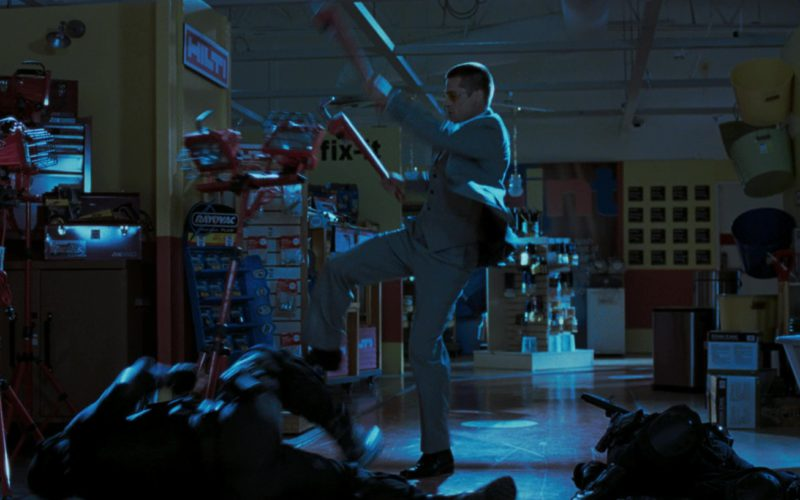 Stanley Hand Tools, Hilti, Rayovac, Mantis Garden Tools in Mr. & Mrs. Smith (1)