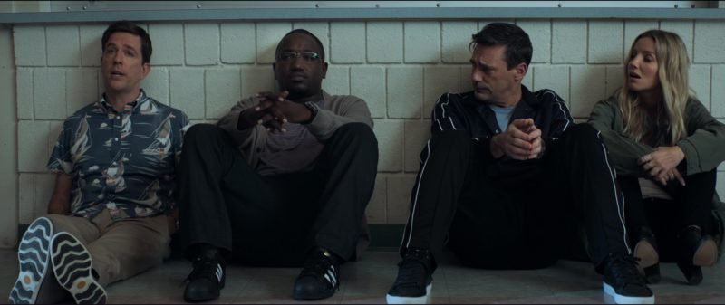 Timberland Shoes Worn by Ed Helms and Adidas Sneakers Worn by Hannibal Buress in Tag (2018) Movie Product Placement