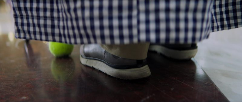 Timberland Shoes Worn by Ed Helms in Tag (2018) Movie Product Placement