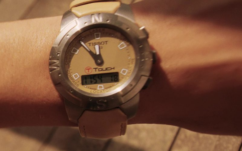Tissot T-Touch Watch Worn by Angelina Jolie in Mr. & Mrs. Smith (1)