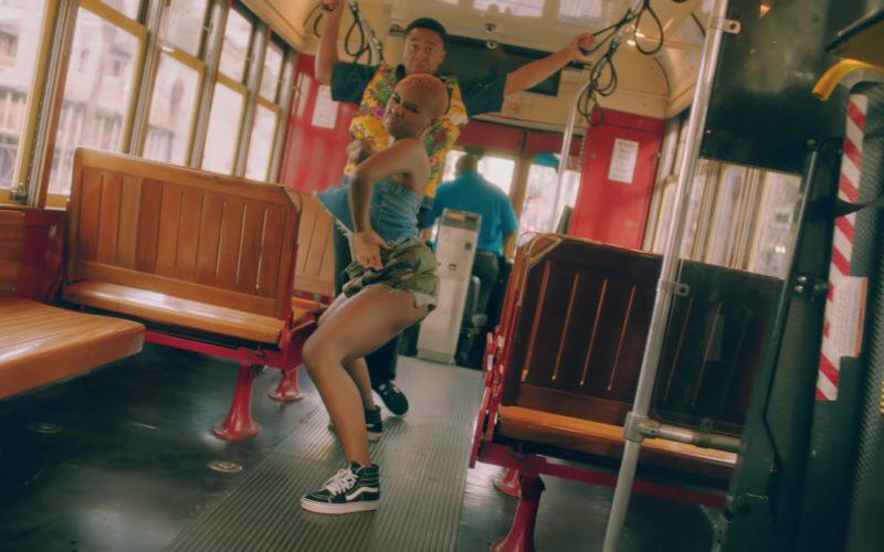 """Vans Shoes Worn by Female Model in """"In My Feelings"""" by Drake (1)"""