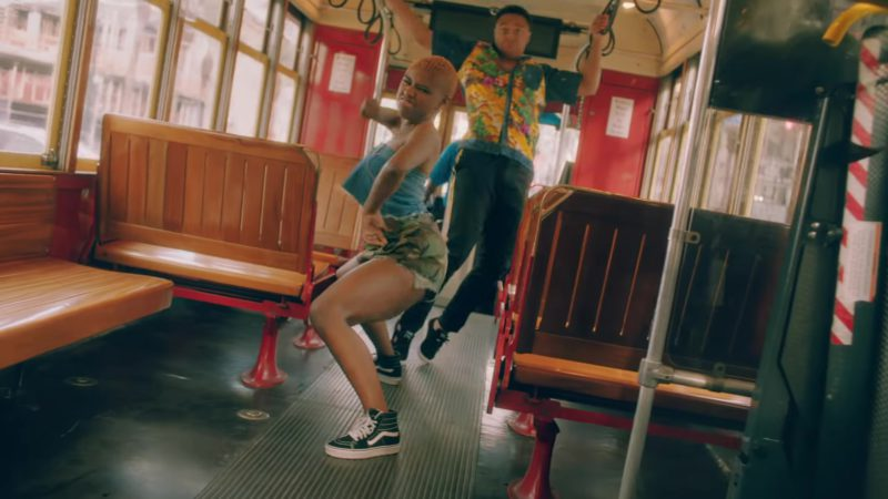 "Vans Shoes Worn by Female Model (Dancer) in ""In My Feelings"" by Drake (2018) Official Music Video Product Placement"