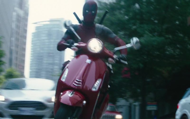 Vespa Scooter Used by Ryan Reynolds in Deadpool 2 Movie (8)