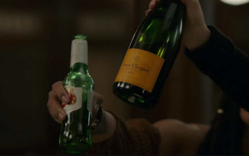Veuve Clicquot Champagne and Stella Artois Beer in Ocean's 8 (1)