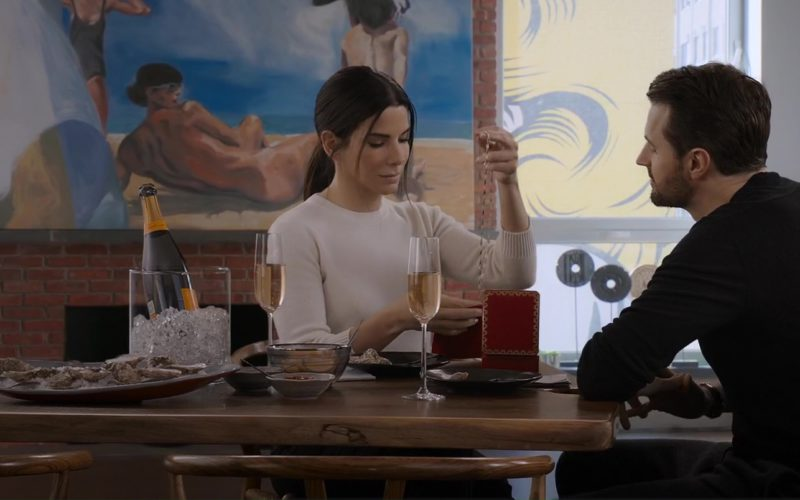 Veuve Clicquot Luxury Champagne Drunk by Sandra Bullock in Ocean's 8