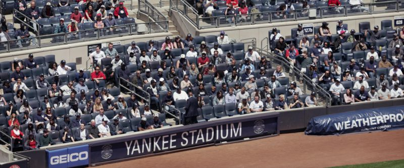 Yankee Stadium in Set It Up (2018) - Movie Product Placement
