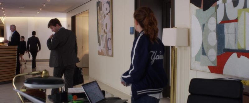 Yankees Jacket Worn by Zoey Deutch in Set It Up (2018) - Movie Product Placement