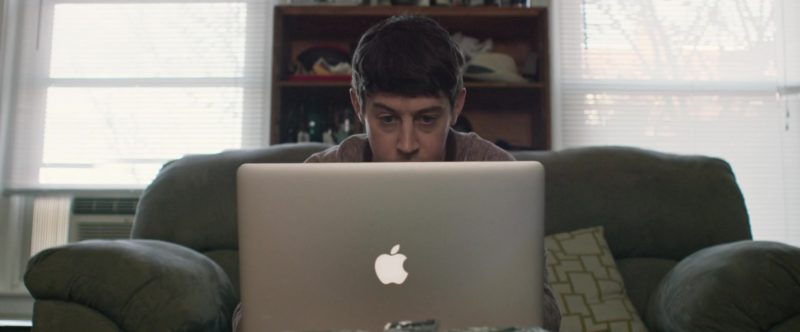 Apple MacBook Pro 15' inch Laptop Used by Alex Sharp in UFO (2018) - Movie Product Placement