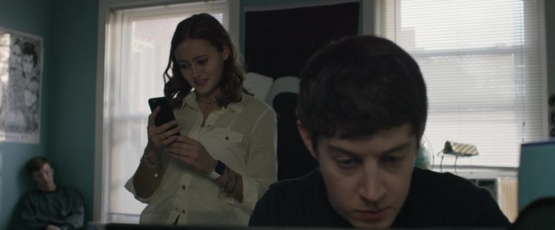 Apple Watch Worn by Ella Purnell in UFO (2018) - Movie Product Placement