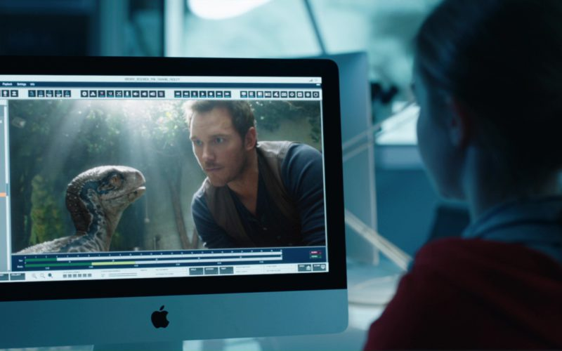 Apple iMac Computer Used by Isabella Sermon in Jurassic World Fallen Kingdom (11)