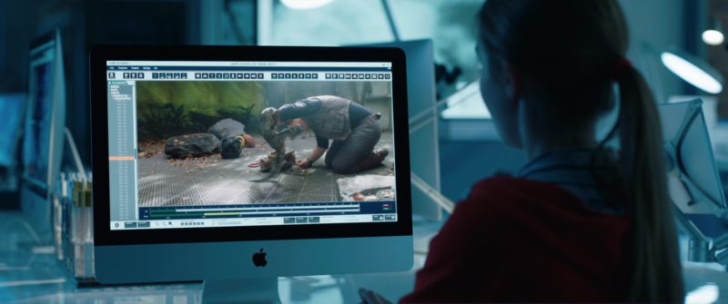 Apple iMac 21.5 Computer Used by Isabella Sermon in Jurassic World: Fallen Kingdom (2018) Movie Product Placement