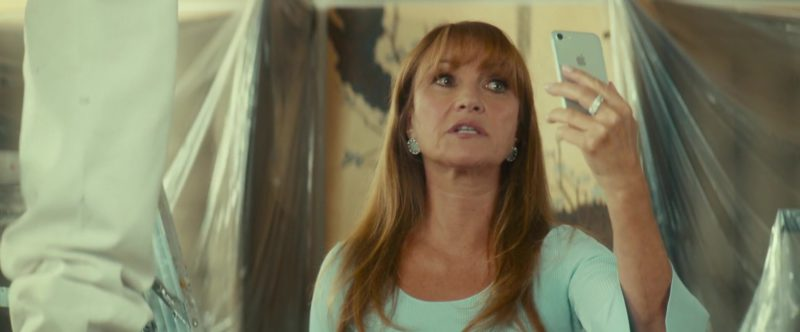 Apple iPhone Smartphone Used by Jane Seymour in Little Italy (2018) Movie Product Placement
