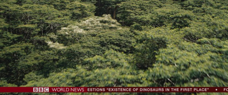 BBC Television Channel in Jurassic World: Fallen Kingdom (2018) - Movie Product Placement