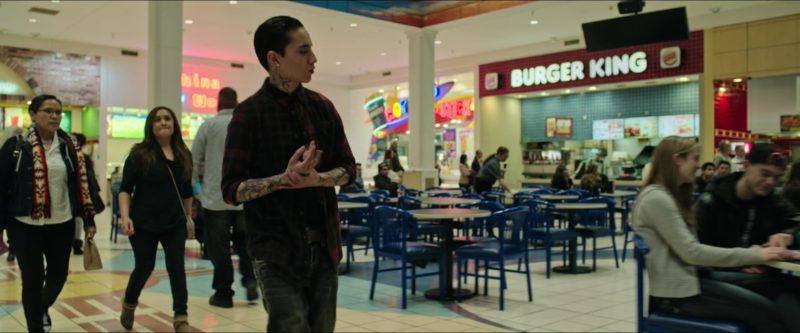 Burger King Restaurant in Sicario: Day of the Soldado (2018) Movie Product Placement