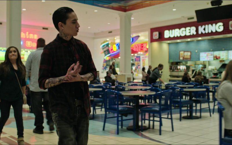 Burger King Restaurant in Sicario Day of the Soldado